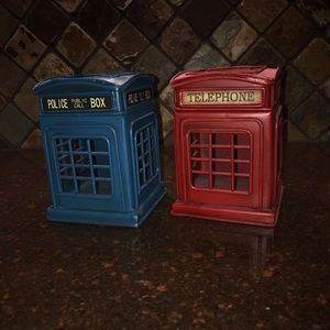 Police Box & Telephone Booth Containers